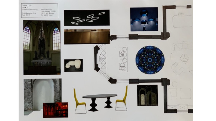 kerk inrichting en keuken uitgebreid